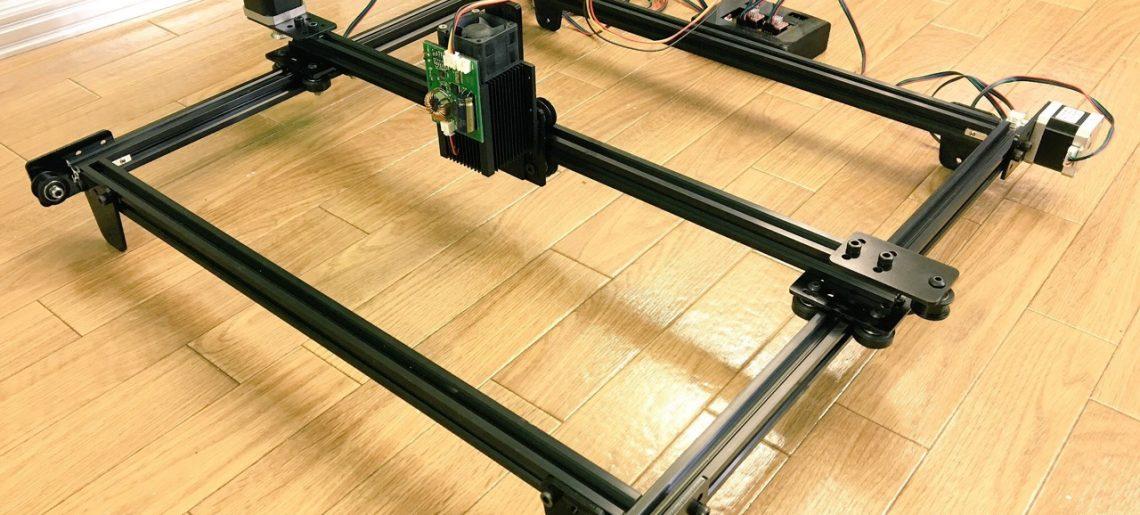 Arduinoでレーザーカッターを自作してみる その2【ハードウェア編】